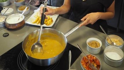 Cooking at Kot Nou